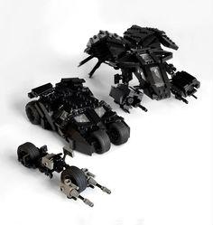 The Dark Knight Vehicles