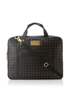 49% OFF Rebecca Minkoff Women's New Virginia Laptop Bag (Black)