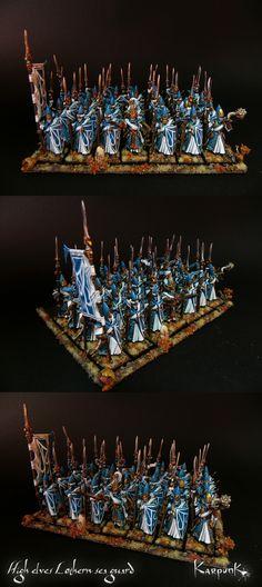High elves Lothern sea guard