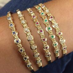 """Ultimate bracelet - diamond or emerald. 7.5"""" $99"""