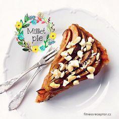Hruškový jáhelník Sugar Free Recipes, Vegan Recipes, Raw Vegan, Cereal, Breakfast, Ethnic Recipes, Desserts, Food, Fitness