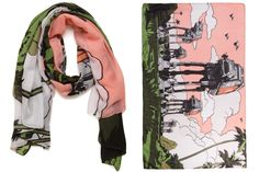 Mighty Fine x Star Wars Rogue One AT-ACT fashion scarf on Amazon