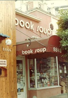 Book Soup on world famous Sunset Strip in West Hollywood, California,