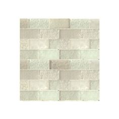 "Found it at Wayfair - Lakeview 14"" x 14"" Glass Mosaic Tile in Nevis"