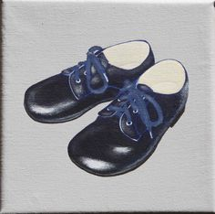 http://www.papaetmaman.fr/toile-petits-pieds-marine.html Toile chaussures cuir enfant décoration murale #toileenfant #papaetmaman #faitmainpourenfantcestpapaetmaman