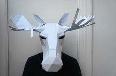 Make your own Moose mask by Wintercroft on Etsy