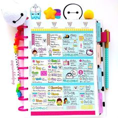 Second half of last weeks layout Happy Thursday Lovelies working on more inventory today but first! Coffee take 20% off a purchase of $10 or more with coupon code GLITTERPUG20 Sticker shop sprinkledpug.storenvy.com shop link in profile  #sprinkledpug #planner #planneraddict #plannernerd #plannerlove #plannergirl #stickers #plannerstickers #kawaii #kawaiistickers #erincondren #kikkik #filofax #thehappyplanner #colorcrush #weloveecc #pastel #stationerylove #washi #paperclips #panda #pink…