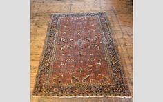 A Heriz carpet, - Textiles & Carpets - LASSCO - England's Prime Resource for Architectural Antiques, Salvage and Curiosities