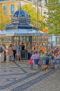 Praça do Camões, Lisbon , Portugal