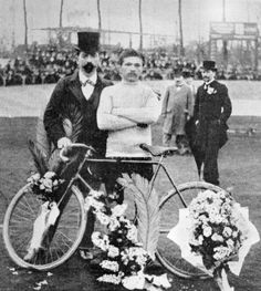 Italian-born Garin twice won Paris-Roubaix (1897-98) before winning the first edition of the Tour de France in 1903
