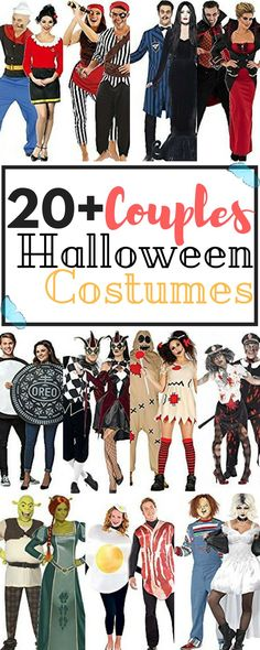 Fall is finally here, October, and of course – our favorite day of the year, Halloween, is just around the corner. Because every couple needs the perfect costume this year, but not everyone can DIY, or has the time to, we've managed to find and sort out 20+ Halloween Costumes for Couples, that are actually affordable!