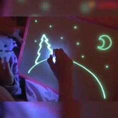 Fluorescent Early Education Writing Graffiti Board LED Handwriting Board - Fluorescent Early EducaYou can find Led and more on our website.