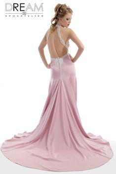 d96be164ceee DREAM SPOSA ATELIER - Abito da sposa in cady rosa antico