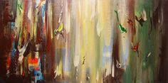 View Aurai , abstract painting by André Pillay. Browse more art for sale at great prices. New art added daily. Buy original art direct from international artists. Shop now #art  #abstractart  #paintings  #fineartseen