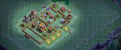 Clash of Clan : Base Pertahan Builder Base Level 4 (TH4)