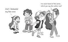 Steven Universe meets Gravity Falls by galaxygrl92