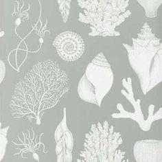 Katie Scott Shells behang | Ferm Living
