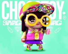 Collection illustration /4 by ChocoToy, via Behance