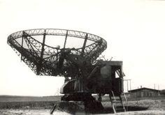radiolokátor Telefunken FuMG 65 W-R ve Vejprnicích u Plzně před koncem války.
