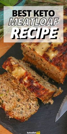 The BEST Keto Meatloaf Recipe (Low Carb Meatloaf) Low Carb Meatloaf, Meatloaf Recipes, Low Carb Keto, Low Carb Recipes, Snack Recipes, Dinner Recipes, Snacks, Oven Roasted Green Beans, Landscape Curbing