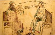 """Averroes had a greater impact on Western European circles and he has been described as the """"founding father of secular thought in Western Europe"""". an Andalusian Muslim polymath; a master of Aristotelian philosophy, Islamic philosophy, Islamic theology, Maliki law and jurisprudence, logic, psychology, politics, Arabic music theory, and the sciences of medicine, astronomy, geography, mathematics, physics and celestial mechanics."""