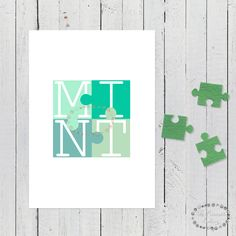 laminas mint, lamina mint, laminas menta, laminas nordicas, laminas verdes, cuadro mint, laminas A4, laminas A3, laminas imprimibles, lamina puzzle, puzzle verde, laminas bonitas, laminas originales, mint, color mint, puzzle, laminas decorativas, laminas escandinavas, cuadros escandinavos