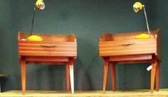 buros de noche, mesas de noche, night-tables, furniture, decada muebles vintage www.decada.com.mx
