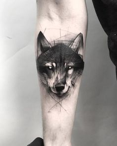 60 Amazing Wolf Tattoos - The Best You'll Ever See - Page 4 of 6 - Straight Blasted Sketchy Tattoo, Watercolor Wolf, Your Spirit Animal, Wolf Tattoos, Tattoo Designs, Ink, Amazing, Ideas, Tatoo