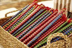 Diy Home Crafts, Arts And Crafts, Arti Thali Decoration, Wedding Reception Entrance, Wedding Ceremony, Stick Centerpieces, 2017 Decor, Indian Curtains, Desi Wedding