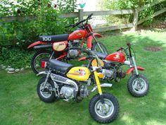 The Honda collection.