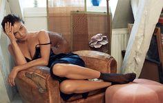 Helena Christensen - Copenhagen apartment shot for Eurowoman Magazine