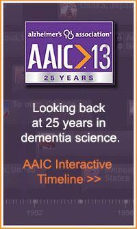 AAIC interactive timeline #alzheimers #tgen #mindcrowd www.mindcrowd.org