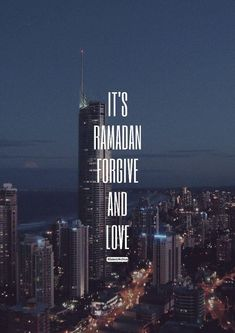 It's Ramadan, forgive and love ❤ Islamic Qoutes, Muslim Quotes, Ramadan Images, Fast Quotes, Visit Morocco, Beautiful Islamic Quotes, Forgiveness Quotes, Islamic Pictures, Islam Quran