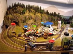 HO Train Layout Construction | Layout Scenery Part IV - Bringing It Together