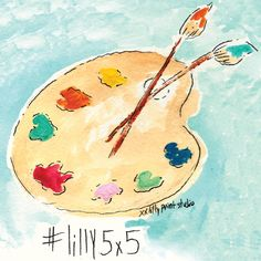 Enjoy our new series, Lilly 5x5- artwork from the Pink Palace Print Studio!  #lilly5x5