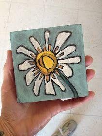 Ideas Small Canvas Art Ideas Design Studios For 2019 Small Canvas Art, Mini Canvas Art, Folk Art Flowers, Flower Art, Art Floral, Small Paintings, Watercolor Paintings, Art Plastique, Painting Inspiration
