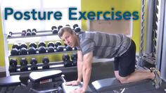 Join Dr. Josh in his gym as he demonstrates some simple exercises you can do to improve your posture.