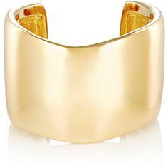Jennifer Fisher Women's XL Flow Cuff ($975) ❤ liked on Polyvore featuring jewelry, bracelets, accessories, gold, 14k jewelry, cuff jewelry, 14k bangle, 14 karat gold jewelry and jennifer fisher