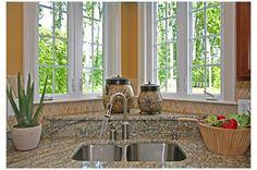 56 Best Corner Kitchen Windows images | Kitchen remodel ...