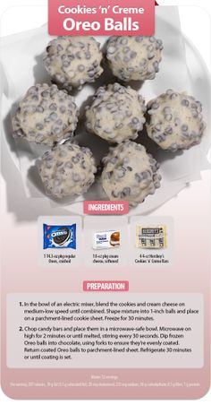 This recipe for Cookies 'n' Creme Oreo Balls from Annie Brown of Store 2561 in Erie, Pa., is a holiday favorite!