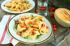 cantaloupe chorizo salad