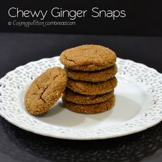 Chewy Ginger Molasses Cookies - Gimme Some Oven