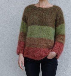 Rowan Knitting, Pull Mohair, Knitwear, Knit Crochet, Cool Style, Pullover, Wool, Sewing, Womens Fashion