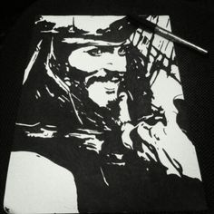 Captain Jack Sparrow; Pirates Of The Caribbean.