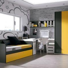 Dormitorio juvenil Archivos - La Chimenea Decoración