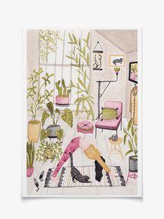 Poster com ilustração da artista plástica  Anália Moraes.