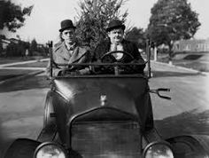 """Hidden Gem #40: Big Business (1929, U.S.A.)   Director: J. Wesley Horne (Supervising Director: Leo  Mc Carey)    Laurel and Hardy, the """"go to"""" specialists in hilarious """"tit for tat"""" types of confrontations, were graced with a special distinction in this early silent short, namely the duo's innocent attempt at retrieving an unwanted Christmas tree (inadvertently caught in a potential customer's slammed door) that begins the slow buildup to it's brilliantly staged Armageddon."""