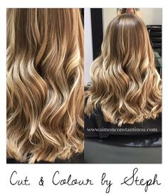 SUNKISSED BLONDE Steph added pretty blonde tones to this clients hair to give her more of a natural summery look We love these beautiful results! Book a complementary colour consultation with Steph or one of our other talented colourists Call us on 02920461191 O.Constantinou & Sons. 99 Crwys Rd Cardiff. CF24 4NF #simonconstantinou #behindthechair #modernsalon #goldwell #goldwelluk #iamgoldwell #sunkissed #blonde #balayage #kms @goldwelluk