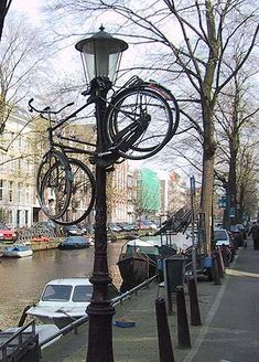 thats how you park your bike in holland                                                                                                                                                                                 More
