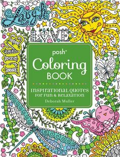 For Fun And Relaxation During The Yuletide Season Curl Up With Posh Adult Coloring Book58 Christmas Designs Color Away Holiday